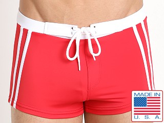 Sauvage Riviera Swim Short Red
