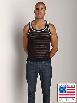 Pistol Pete Avalon Mesh Tank Top Black