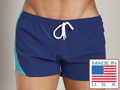 Pistol Pete Mariner Swim Short Navy