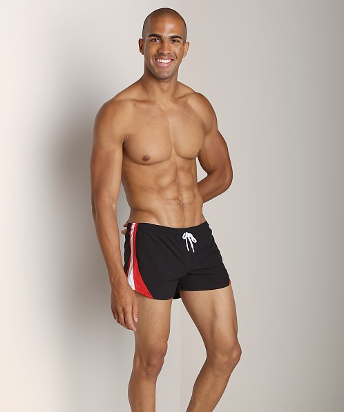 Pistol Pete Mariner Swim Short Black