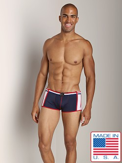 Pistol Pete Patriot Swim Trunk Navy