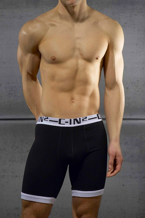 C-IN2 Bamboo Rider Shorts Black