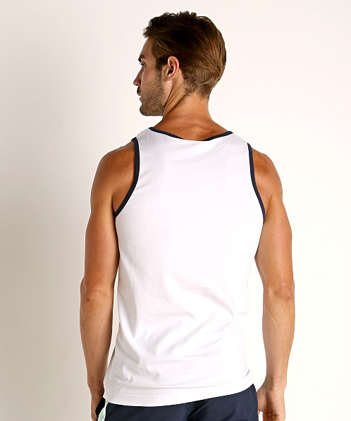 Hugo Boss Beach Tank Top White