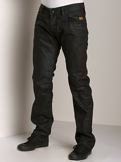 G-Star Heller Low Straight Jeans Plate Denim