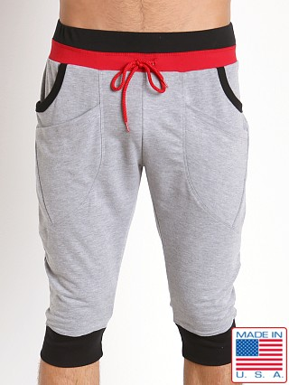 Pistol Pete Trooper Dropped Crotch Jam Pant Gray