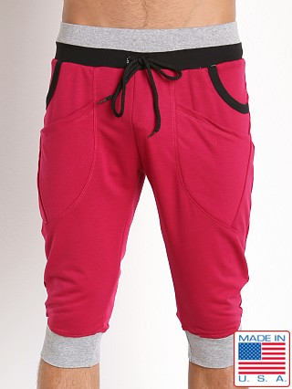 Pistol Pete Trooper Dropped Crotch Jam Pant Magenta