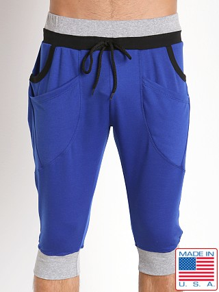 Pistol Pete Trooper Dropped Crotch Jam Pant Royal