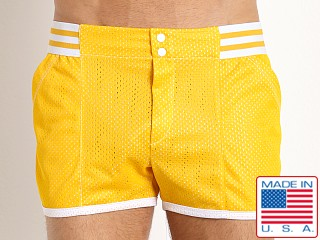 Pistol Pete Varsity Short w/Lining Yellow