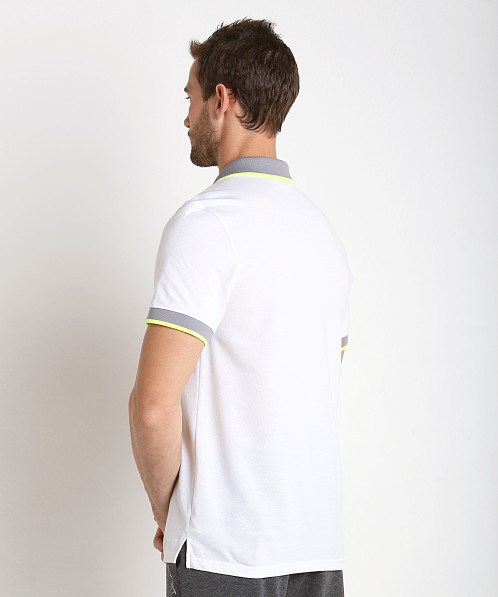 2xist Modern Sport Tipped Polo Shirt White