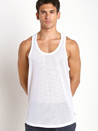 Complete the look: 2xist Modern Sport Open Mesh Tank Top White