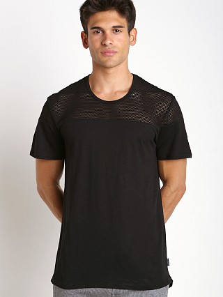 Complete the look: 2xist Modern Sport Open Mesh Textured Jersey T-Shirt Black