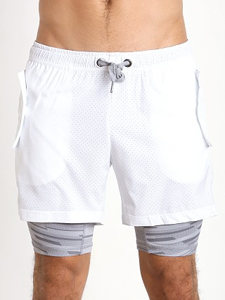 Complete the look: 2xist Modern Sport Mesh Shorts White