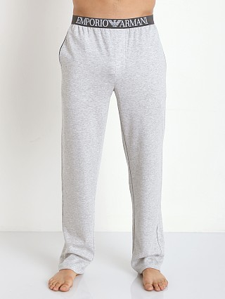 Emporio Armani Soft Lounge Pants Melange Grey