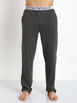 Emporio Armani Soft Lounge Pants Charcoal