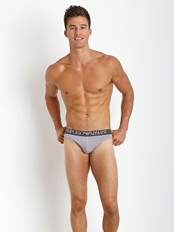 Emporio Armani Colored Stretch Cotton Thong Rabbit