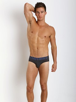 Emporio Armani Eagle Stretch Cotton Brief Charcoal
