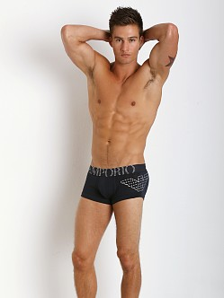 Emporio Armani Eagle Stretch Cotton Trunk Marine