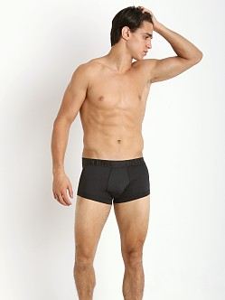 Emporio Armani Fashion Yarn Dyed Trunk Black