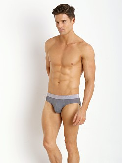 Emporio Armani Printed Microfiber Brief Rabbit