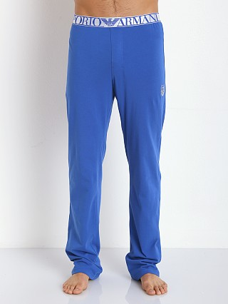 Emporio Armani X Mas Stretch Cotton Pants Royal Blue
