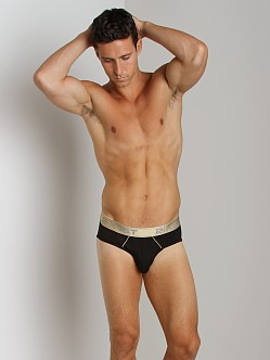 2xist Gold Contour Pouch Brief Black