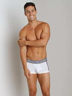2xist Athletic No-Show Trunk White