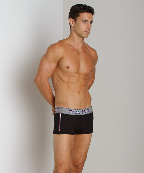 2xist Athletic No-Show Trunk Black