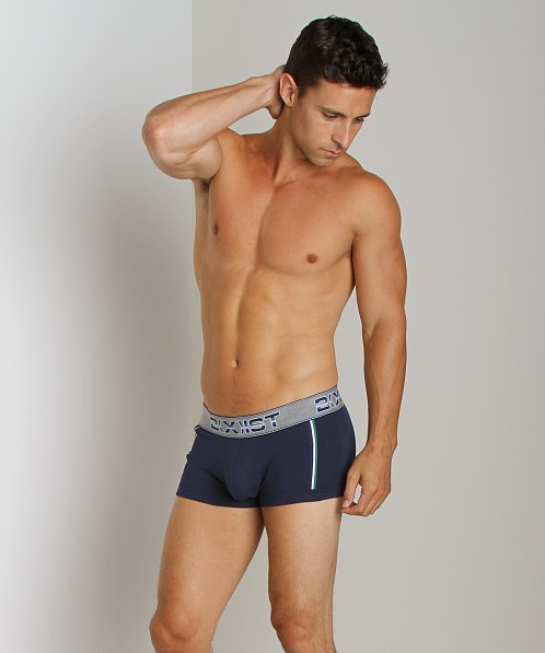 2xist Athletic No-Show Trunk Navy