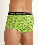 Emporio Armani All Over Eagle Trunk Lime, view 4