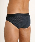 Emporio Armani Pattern Mix Brief Decor Stripe Marine, view 4