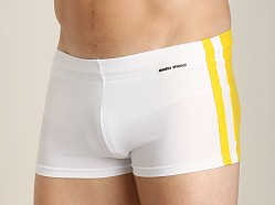 Modus Vivendi Varsity Swim Trunk Yellow/White