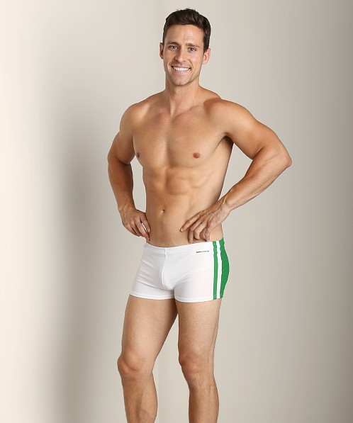 Modus Vivendi Varsity Swim Trunk Green/White