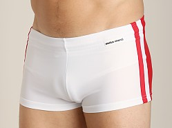 Modus Vivendi Varsity Swim Trunk Red/White
