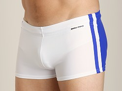 Modus Vivendi Varsity Swim Trunk Blue/White