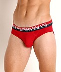 Emporio Armani Double Eagle Brief Cherry, view 3