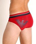 Emporio Armani Double Eagle Brief Cherry, view 4