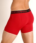 Emporio Armani Bonding Microfiber Trunk Cherry, view 4