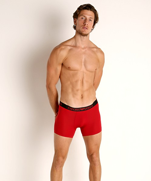 Emporio Armani Bonding Microfiber Trunk Cherry