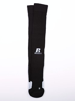 Russell Athletic All Sport Over Calf Socks Black/White