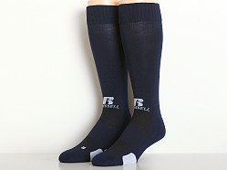 Russell Athletic All Sport Over Calf Socks Navy/White