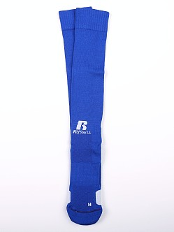 Russell Athletic All Sport Over Calf Socks Royal/White