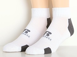 Russell Athletic Performance Quarter Socks 3-Pack White/Stealth
