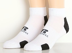 Russell Athletic Performance Quarter Socks 3-Pack Black/White