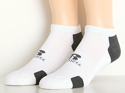 Russell Athletic Performance Low Cut Socks 3-Pack White/Stealth