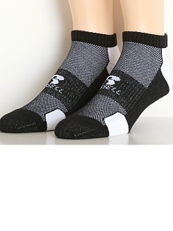 Russell Athletic Performance Low Cut Socks 3-Pack Black/White
