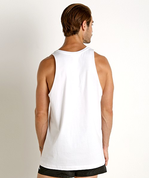 Diesel Rainbow Locoarm Tank Top Bright White