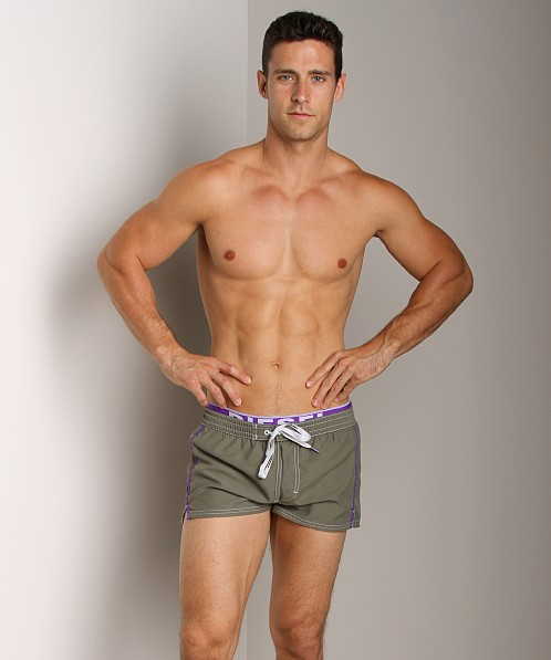 Diesel Barrely Swim Shorts Military