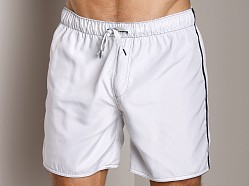 Diesel Reversible Dolphdouble Swim Boxer White