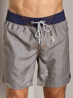 Diesel Blansrif Swim Boxer Denim Blue Stripes