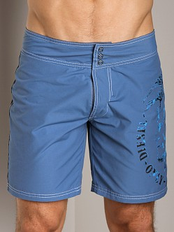 Diesel Blans Mohawk Swim Boxer Royal Blue